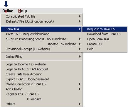 Winman-TDS · How to create a revised e-return? · How to