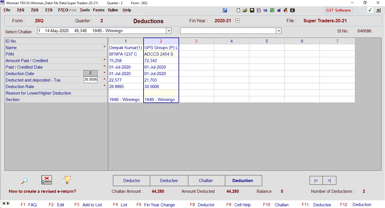 E Tds Software Software For Tds Efiling Tds Returns E